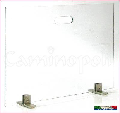 Parascintille Moderno P136L vetro temperato