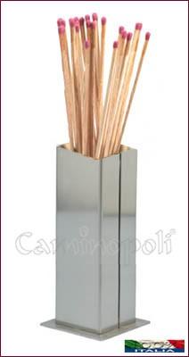 Portafiammiferi in acciaio X106