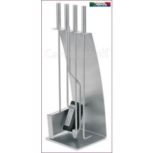 Set attrezzi desig 4+1 in acciaio inox S135