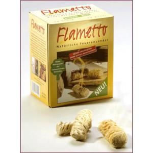 Allume-feu écologique en laine de bois X103-24 Flametto